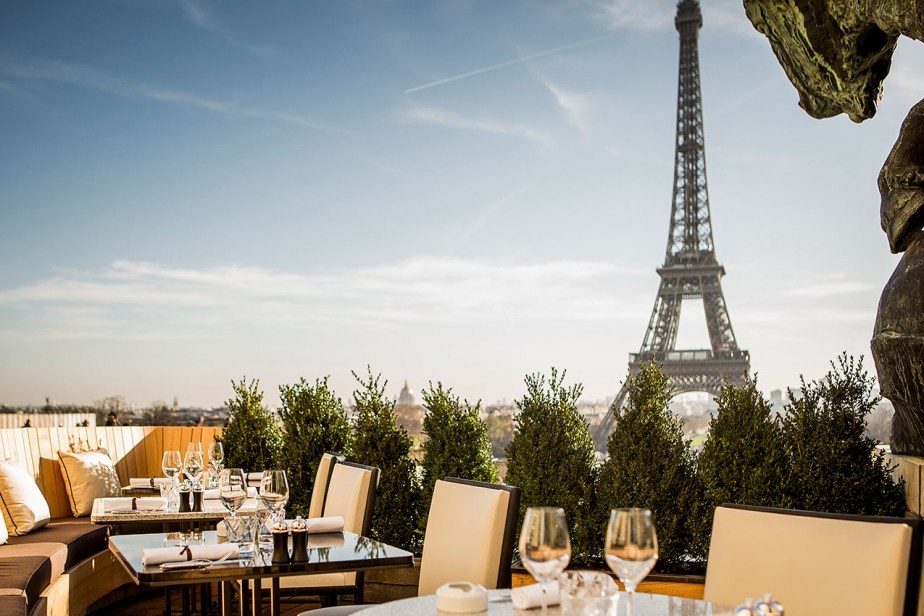 Famous Restaurants With Eiffel Tower View