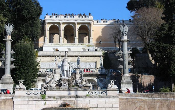romantic places in Rome, romance in Rome, romantic places in Rome to propose