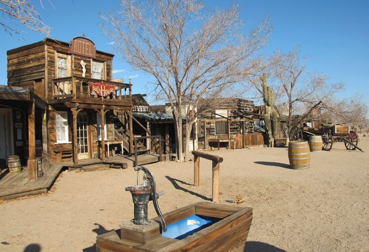 Ghost Town, California state fact, California facts and information