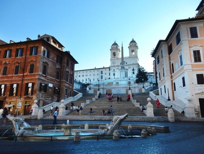 facts about the Spanish steps, interesting facts about the Spanish steps