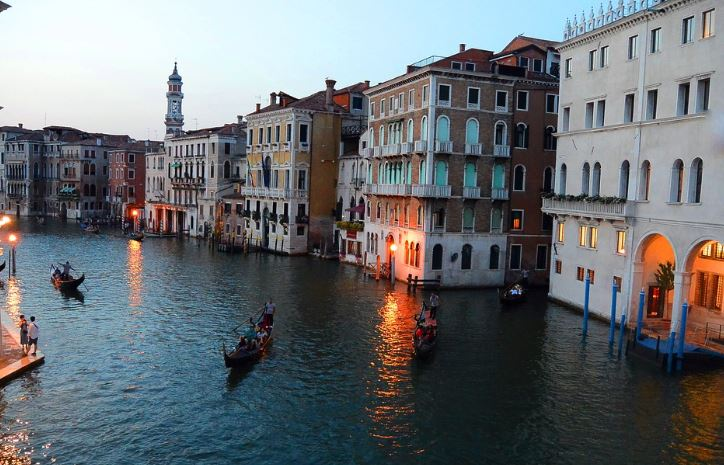 grand canal Venice facts, facts about the grand canal, grand canal facts