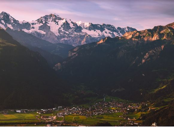 large cities in Switzerland