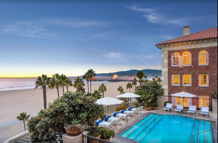 best hotels in Santa Monica, Luxury Hotels in Santa Monica