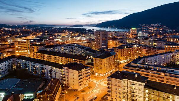 Cities in Switzerland