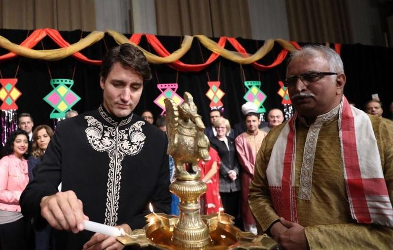 Diwali In Canada, Diwali celebration in Canada