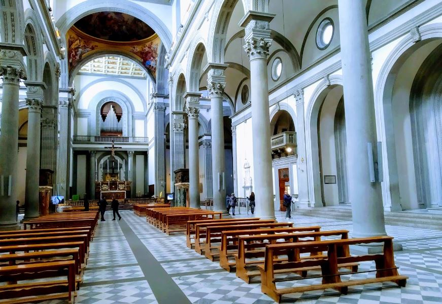 Churches in Florence, Worship Places to visit in Florence,