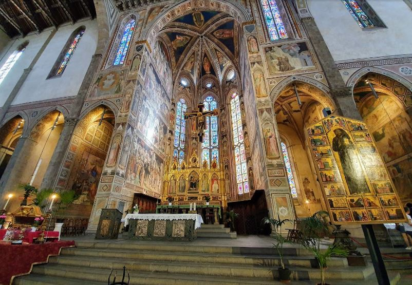 most seasoned church in Florence, medieval Florence,