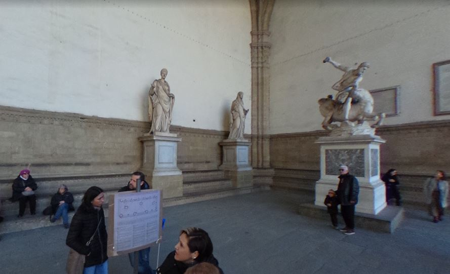 main scaffold in Florence, important facts about Florence, popular personalities of the world