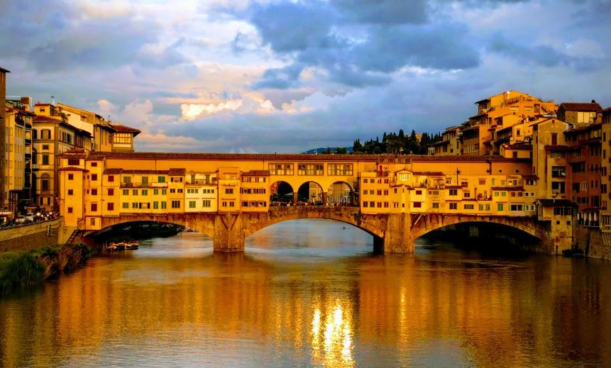 most conventional things to do, emotional nightfall over Florence,