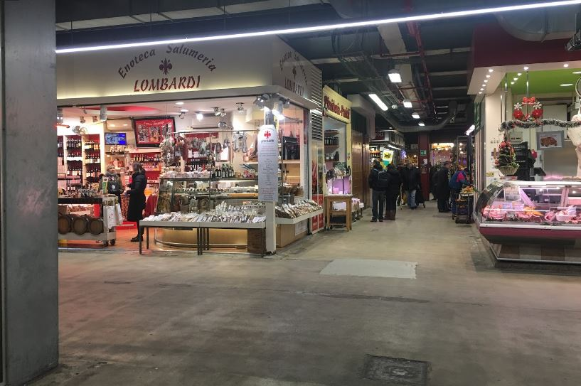 amazing food Corner in Florence, Florence's oldest markets,