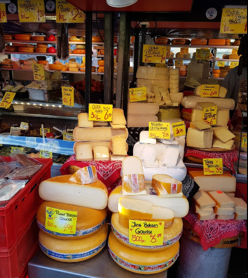 famous markets in Amsterdam, Amsterdam top food market, the best food market in Amsterdam