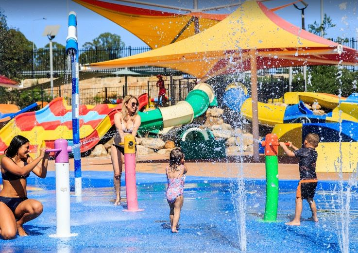 water parks at Sydney, top 10 water parks in Sydney, parks in Sydney with water