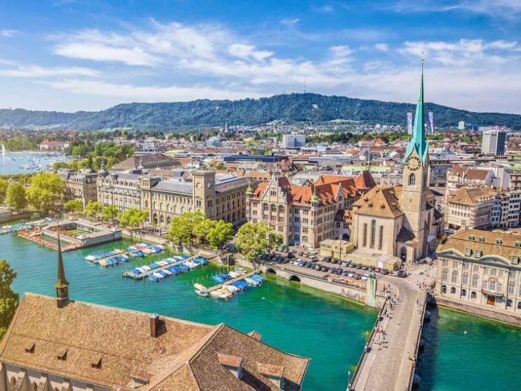 Famous Monuments of Zurich