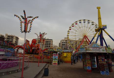 amusement park in Cairo, theme parks in Cairo, an amusement park in Cairo Egypt