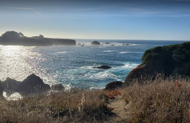 amazing beach in northern California