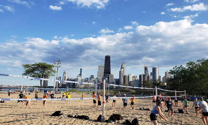 Famous Beaches in Chicago,most crowded beach in Chicago,beaches in Chicago,longest beaches in Chicago