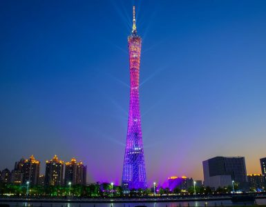 train route to reach this Canton Tower, convenient route to Canton Tower,