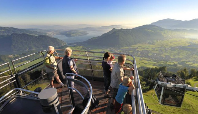 most-visited hill stations in Switzerland, summer holiday hill stations in Switzerland, Pilatus Hill Station in Switzerland, unique hill station to visit in Switzerland, popular hill station in Switzerland