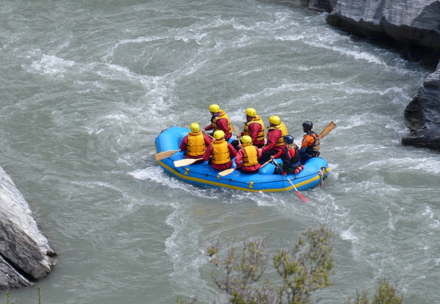best river rafting in north India, which is the best place for river rafting in India, best rivers for rafting in India