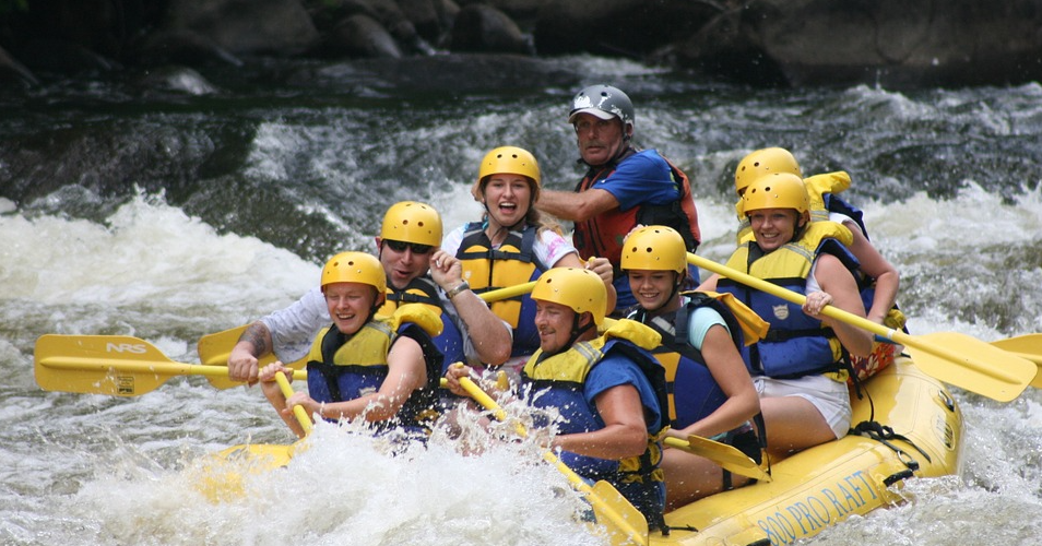 best place for river rafting in India, best white river rafting in India, best place to do river rafting in India