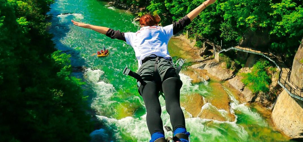 Bungee jumping in Japan in 2021, list of 8 epic Bungee Jump in Japan, famous bungee jumping in Japan, top bungee jump of Japan, popular bungee jump in Japan, spot for bungee lovers in Japan, famous bungee jumping places in Japan, ideal bungee jump in Japan,